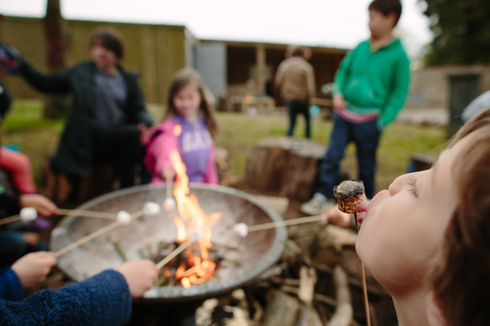 Who can resist toasted marshmallows?