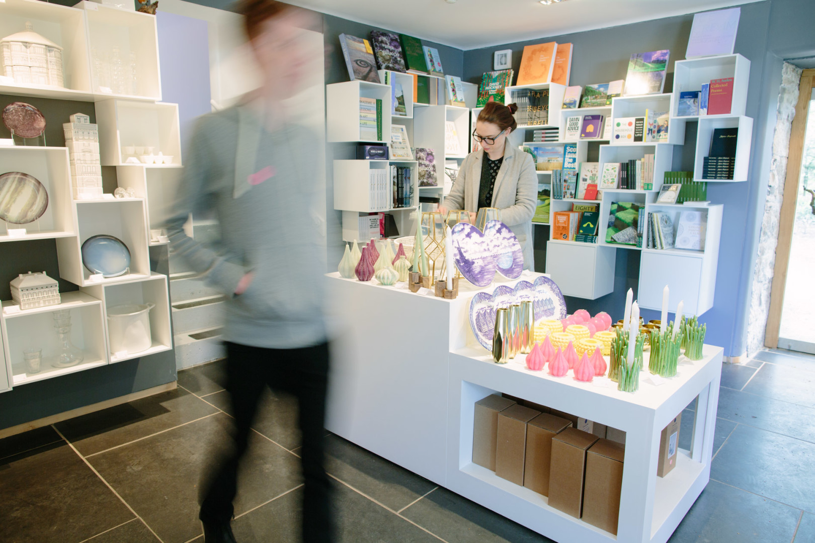 Inside the wonderfully curated shop
