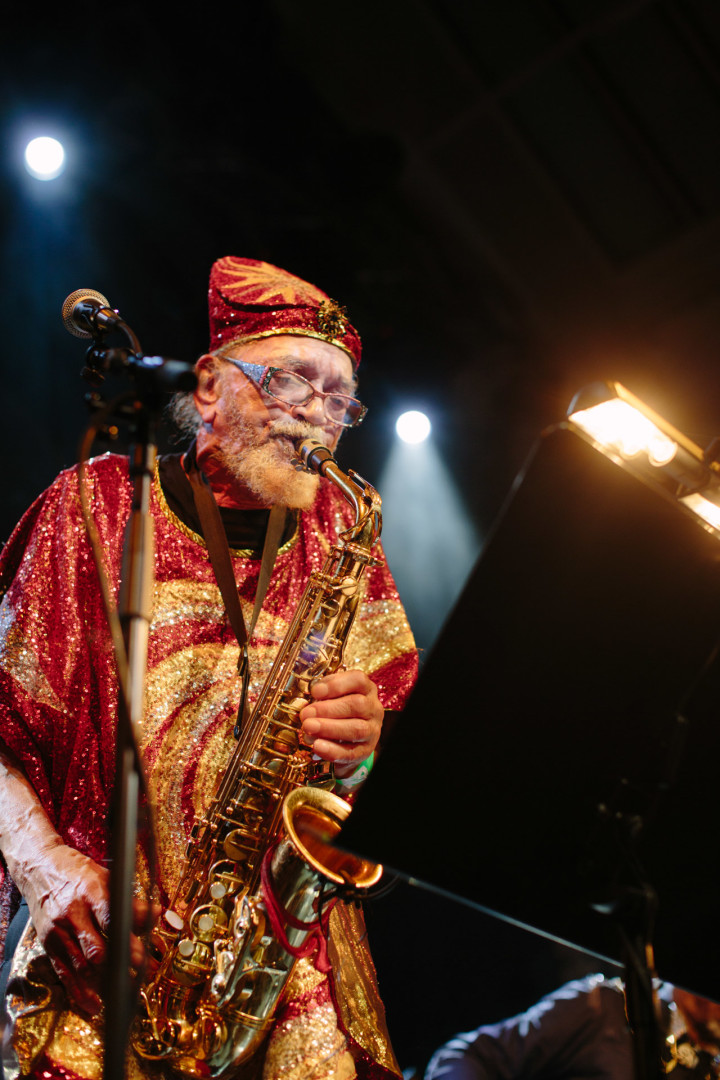 Marshall Allen Maestro for the Sun Ra Arkestra