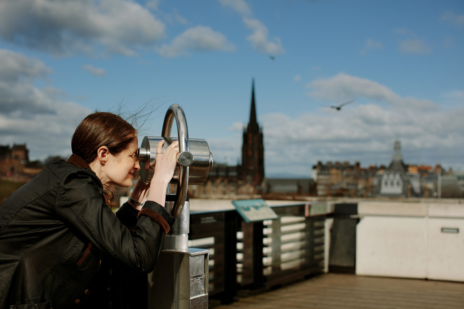 Capturing the Museum's rooftop experience