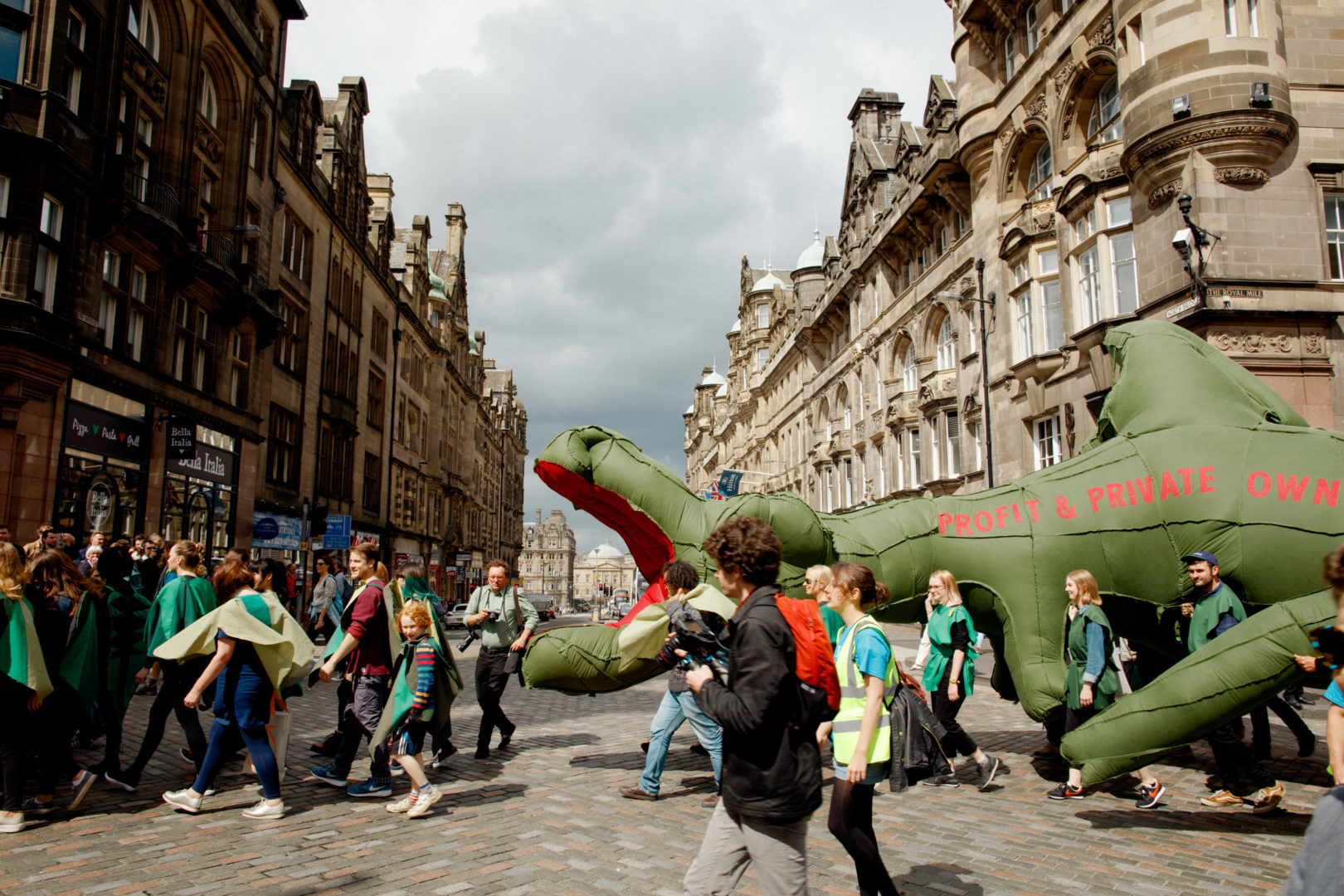 The Dragon of Greed and Private Ownership on the Royal Mile