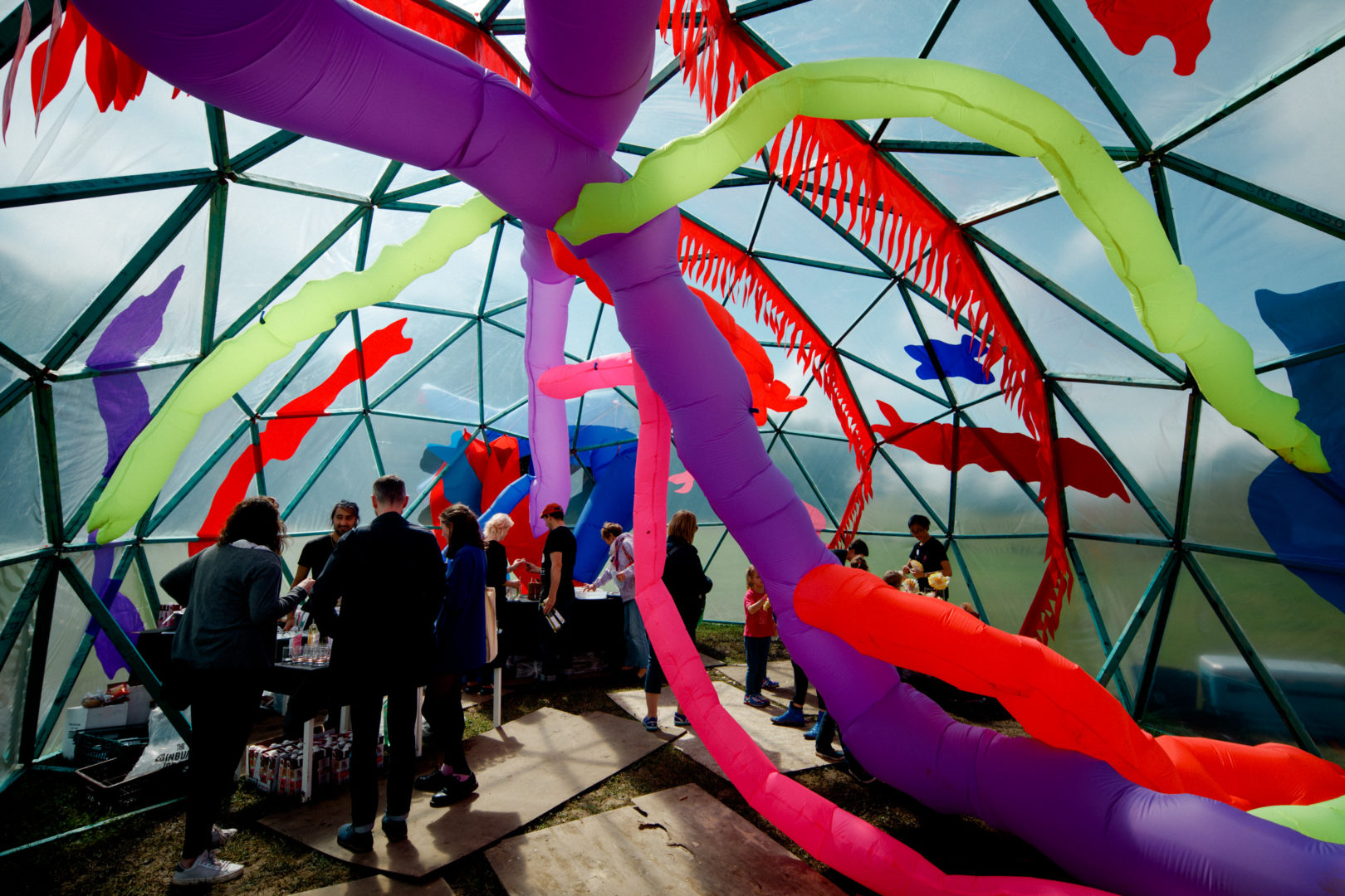 Inside Lunarnova Campout by Pester & Rossi