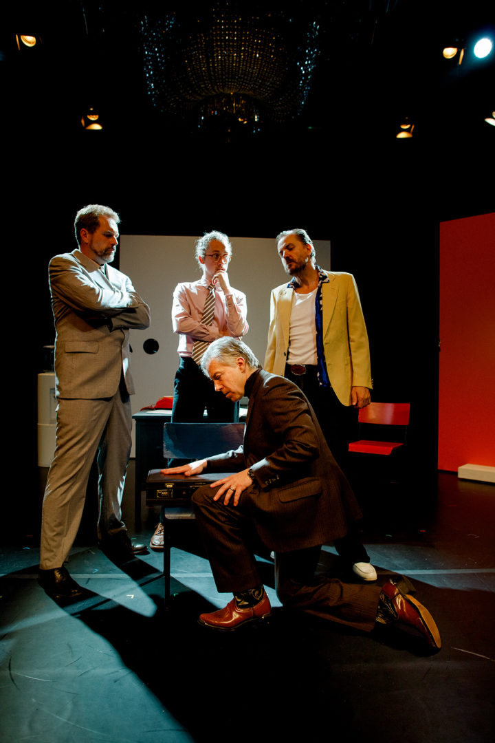 DeLorean The Play production images